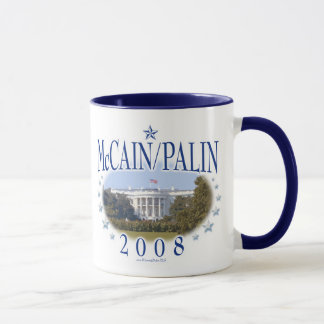McCain Palin White House 2008 Mug