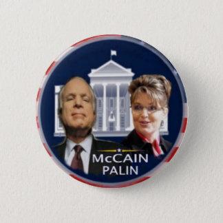McCain/Palin White House Button