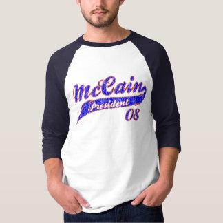 McCain President baseball shirt