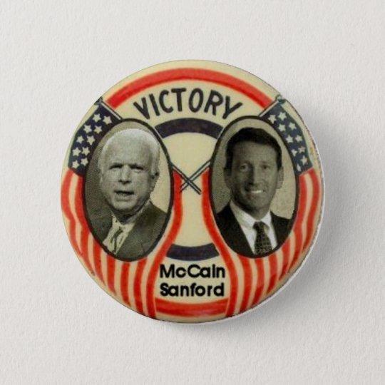 McCain & Sanford 6 Cm Round Badge