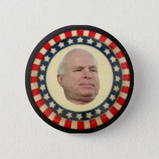 McCain: Stars & Stripes 6 Cm Round Badge