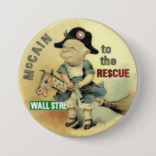 McCain Wall St. Rescue Button