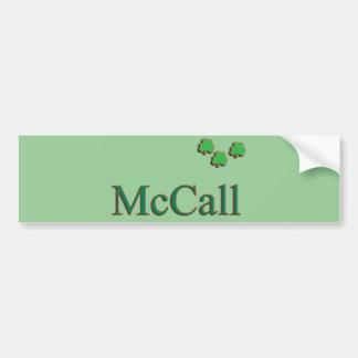 McCall Family Bumper Sticker