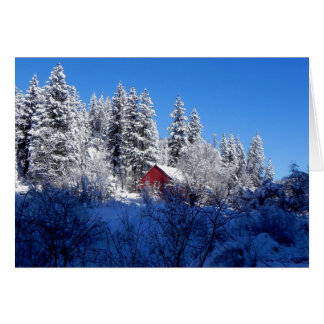 McCall, ID Winter scene Card