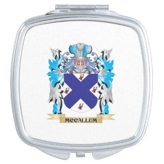 Mccallum Coat of Arms - Family Crest Travel Mirrors