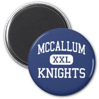 McCallum - Knights - High School - Austin Texas 6 Cm Round Magnet