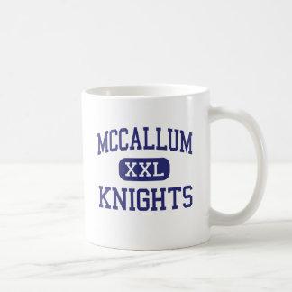 McCallum - Knights - High School - Austin Texas Basic White Mug