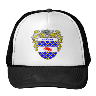 McCann Coat of Arms (Mantled) Cap