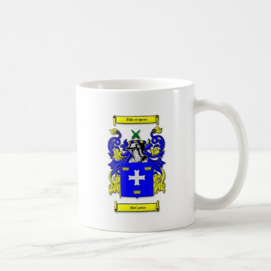 McCarter Coat of Arms Coffee Mug