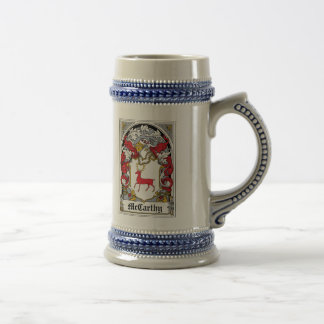 McCarthy Family Crest Coffee Mugs