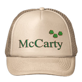 McCarty Family Cap