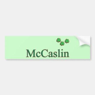McCaslin Family Bumper Sticker