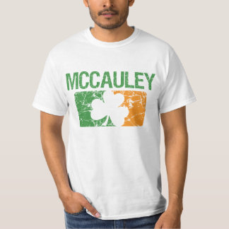 Mccauley Surname Clover T-Shirt