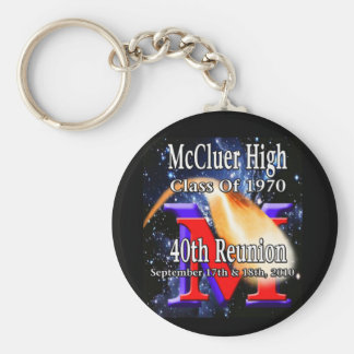 McCluer High Class of 70 40th Reunion keychain