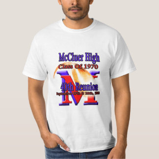 McCluer High Class of '70 40th Reunion T-Shirt