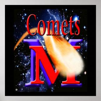 McCluer High School Comet Poster