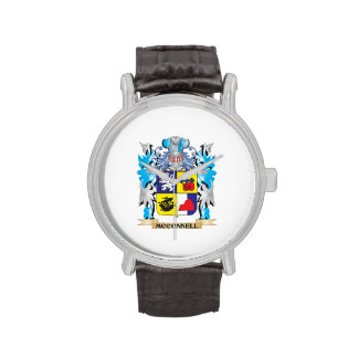 Mcconnell Coat of Arms - Family Crest Wristwatches