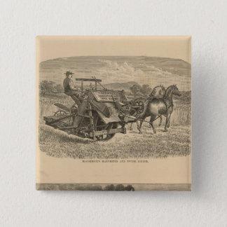 McCormick Company, Chicago, Illinois 15 Cm Square Badge