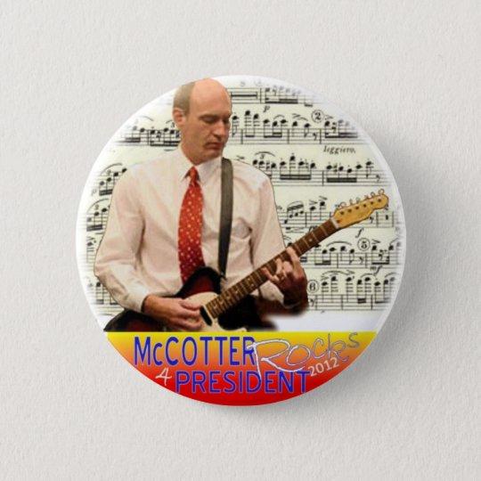 McCotter for President 2012 6 Cm Round Badge
