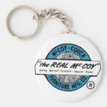 McCoy Couch and Furniture MFG.CO Basic Round Button Key Ring