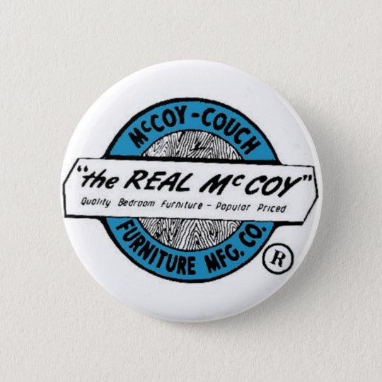 McCoy Couch Furniture MFG. CO 6 Cm Round Badge