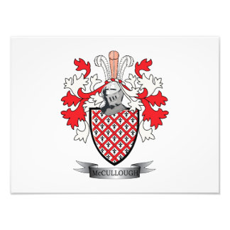 McCullough Family Crest Coat of Arms Photo