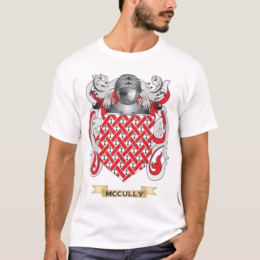 McCully Coat of Arms (Family Crest) T-shirt