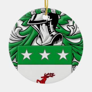 McDevitt Coat of Arms Ornaments