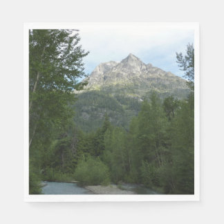 McDonald Creek at Glacier National Park Paper Napkin
