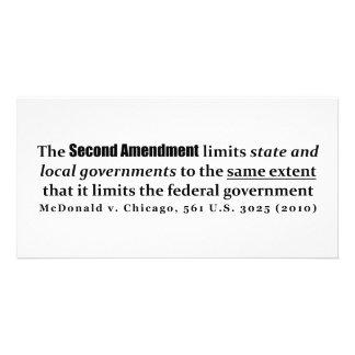 McDonald v. Chicago, 561 U.S. 3025 (2010) Photo Cards