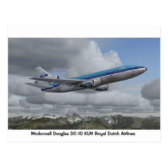McDonnell Douglas DC-10 of KLM Royal Dutch Airline