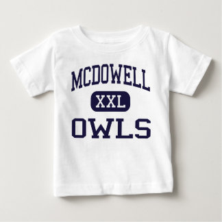 McDowell - Owls - Junior High School - Hondo Texas Baby T-Shirt
