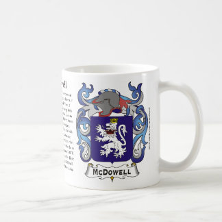 McDowell, the Origin, the Meaning and the Crest Mu Coffee Mug