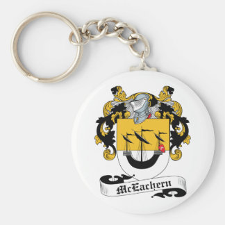 McEachern Family Crest Key Chain