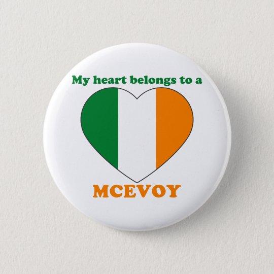Mcevoy 6 Cm Round Badge