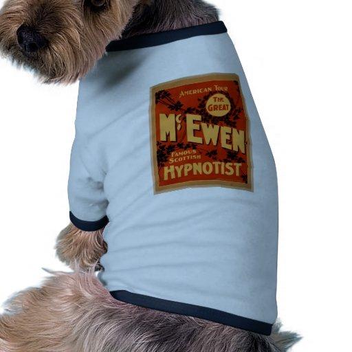 McEwen, 'Hypnotist' Vintage Theater Dog Clothing