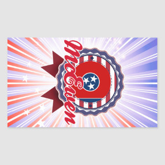 McEwen TN Rectangular Stickers