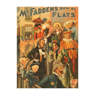 McFadden's row of flats new edition Theatre Canvas Print