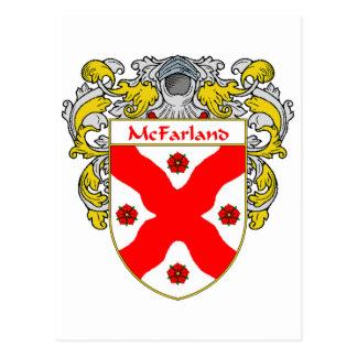 McFarland Coat of Arms (Mantled) Postcard