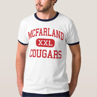 McFarland - Cougars - High - McFarland California T-Shirt
