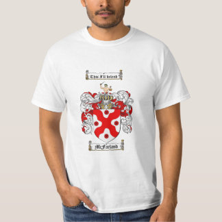 Mcfarland Family Crest - Mcfarland Coat of Arms T-Shirt