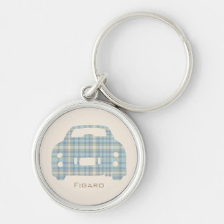 McFig Tartan Nissan Figaro customised keyring