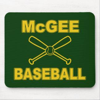 McGee Baseball Mouse Pad