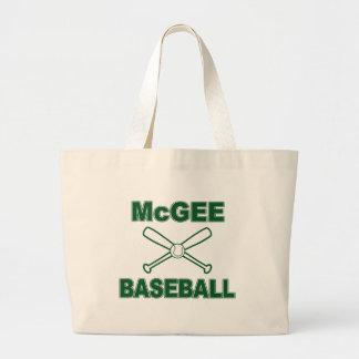 McGee Baseball Jumbo Tote Bag