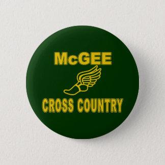 McGee Cross Country 6 Cm Round Badge