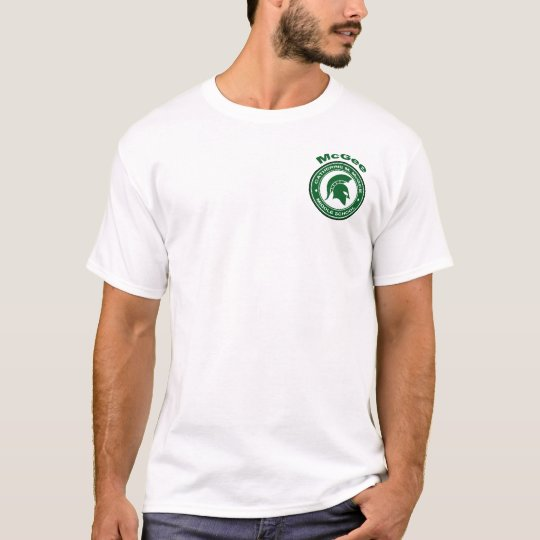 McGee Roundel Left-Chest Logo With Back! T-Shirt