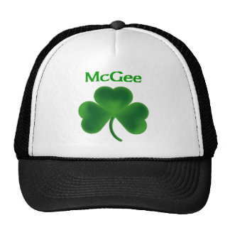 McGee Shamrock Trucker Hats