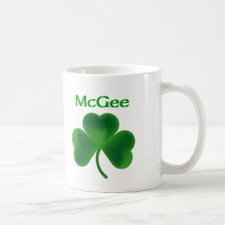 McGee Shamrock Mugs