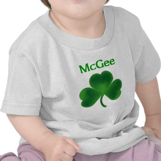 McGee Shamrock Tshirts