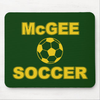 McGee Soccer Mouse Pad